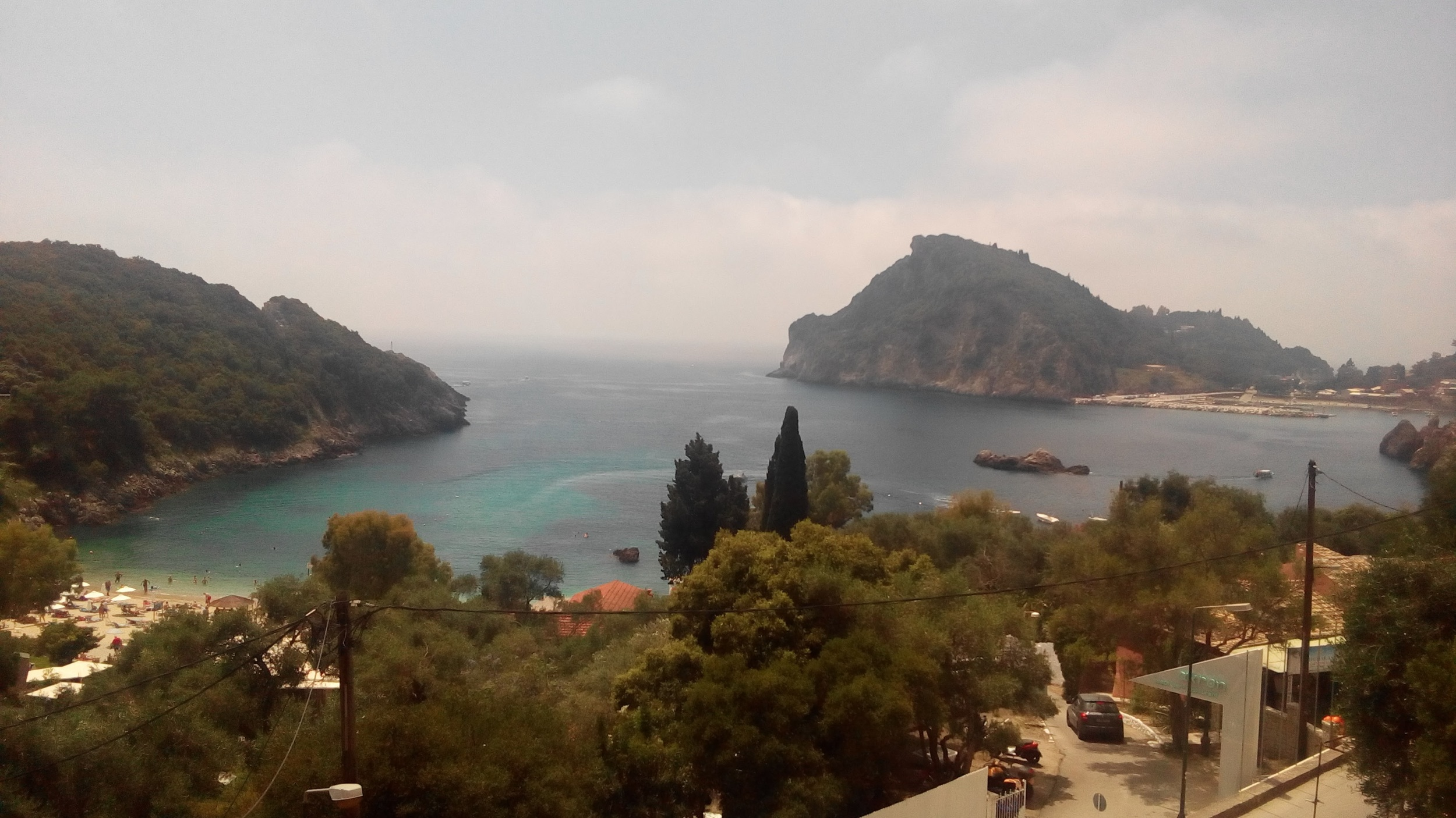 """View from """"the Greek Way"""""""