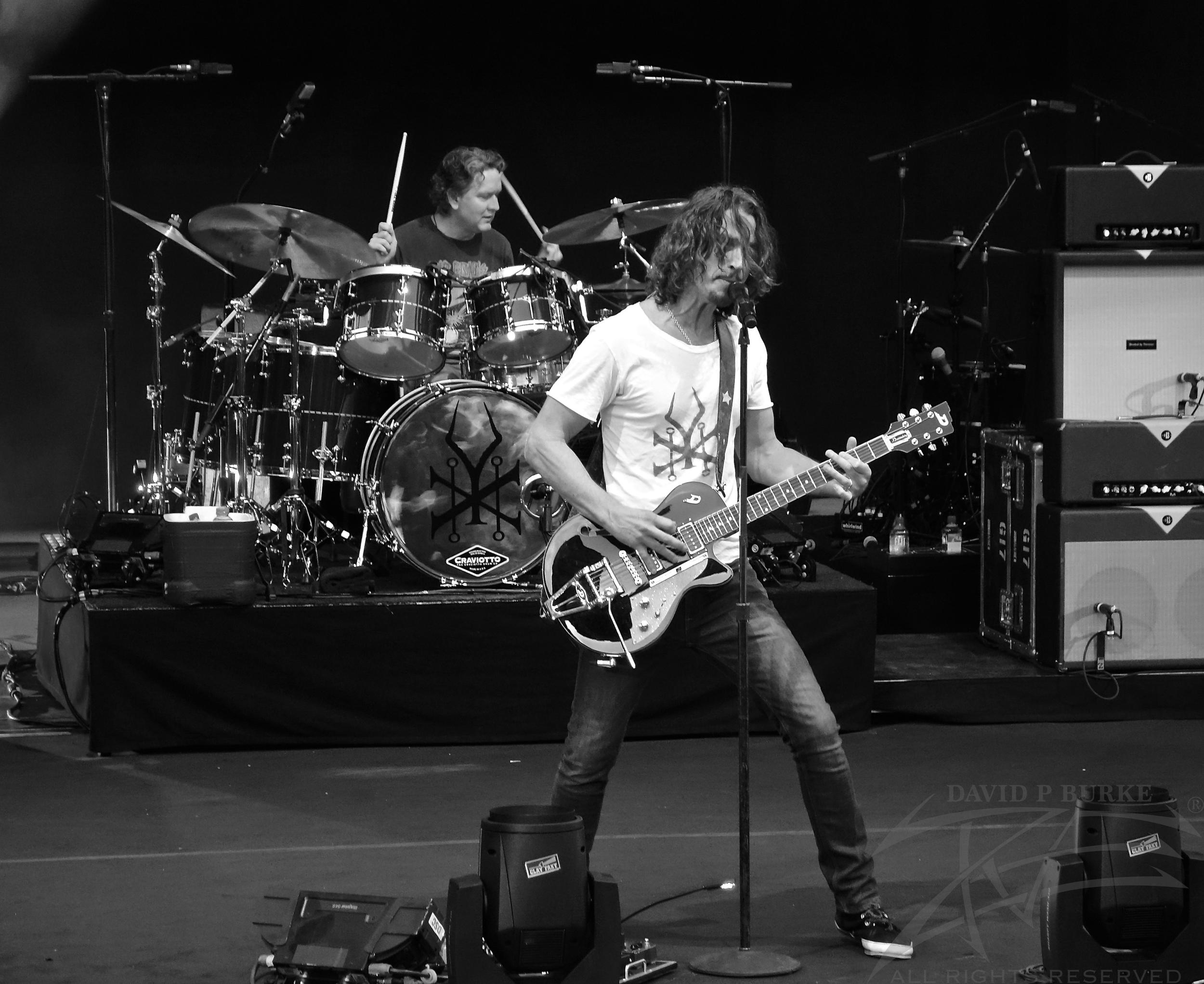 Frontman Chris Cornell photo: David Burke