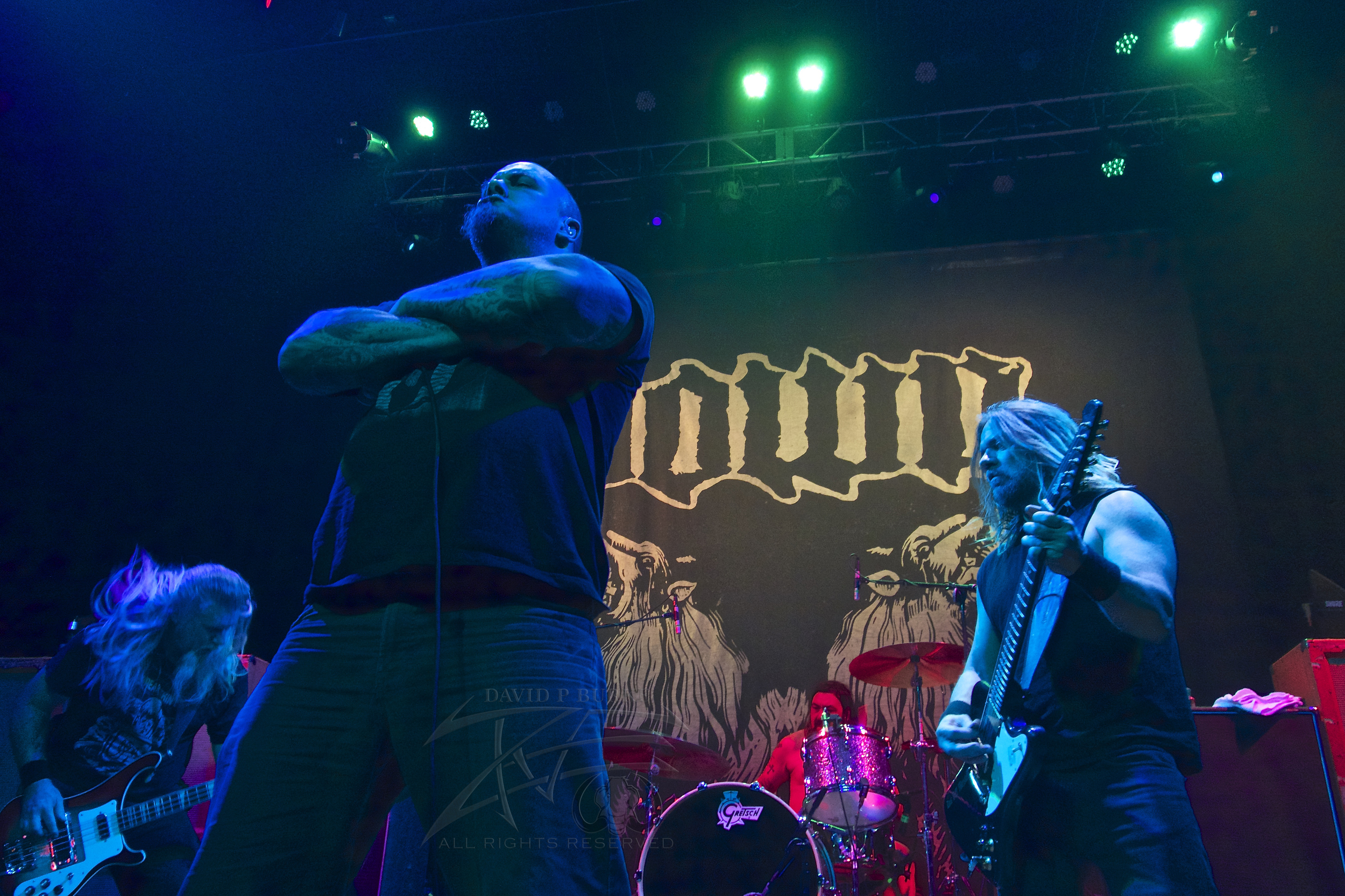 Philip Anselmo oversees all.    photo: David Burke