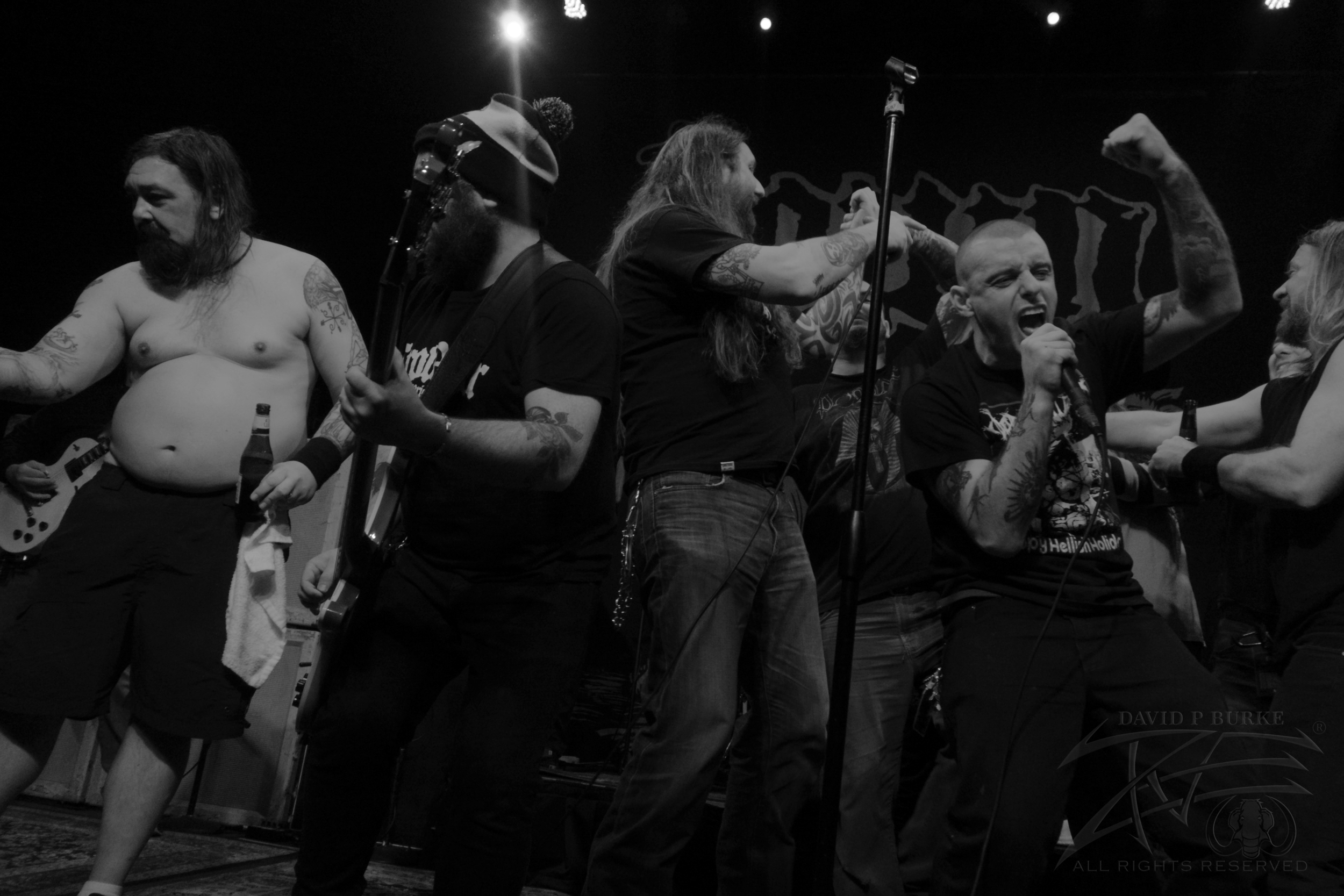 Members of Down, Orange Goblin and King Parrot unite for an epic final jam    photo: David Burke