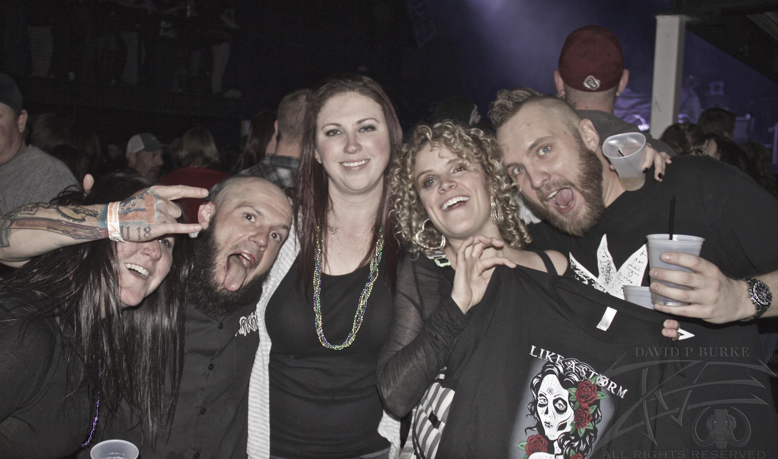 Hellyeah fans  photo: David Burke