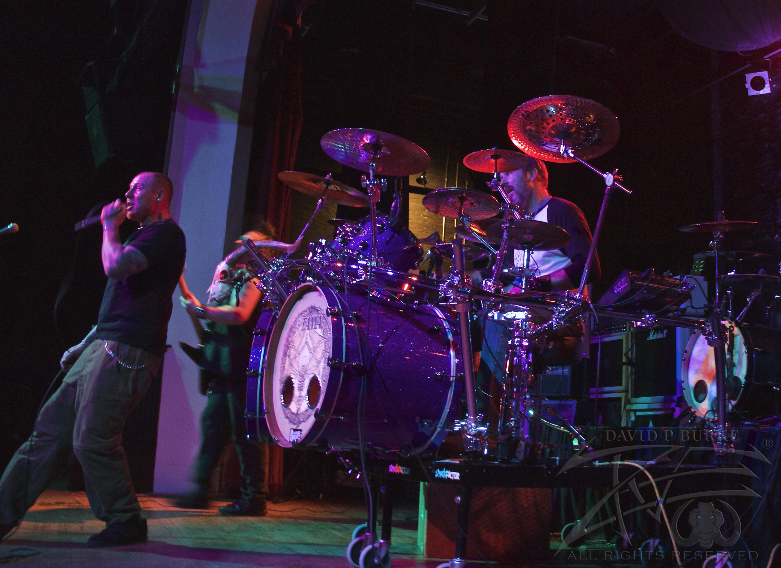 SmackFactor drummer Loren Honstein