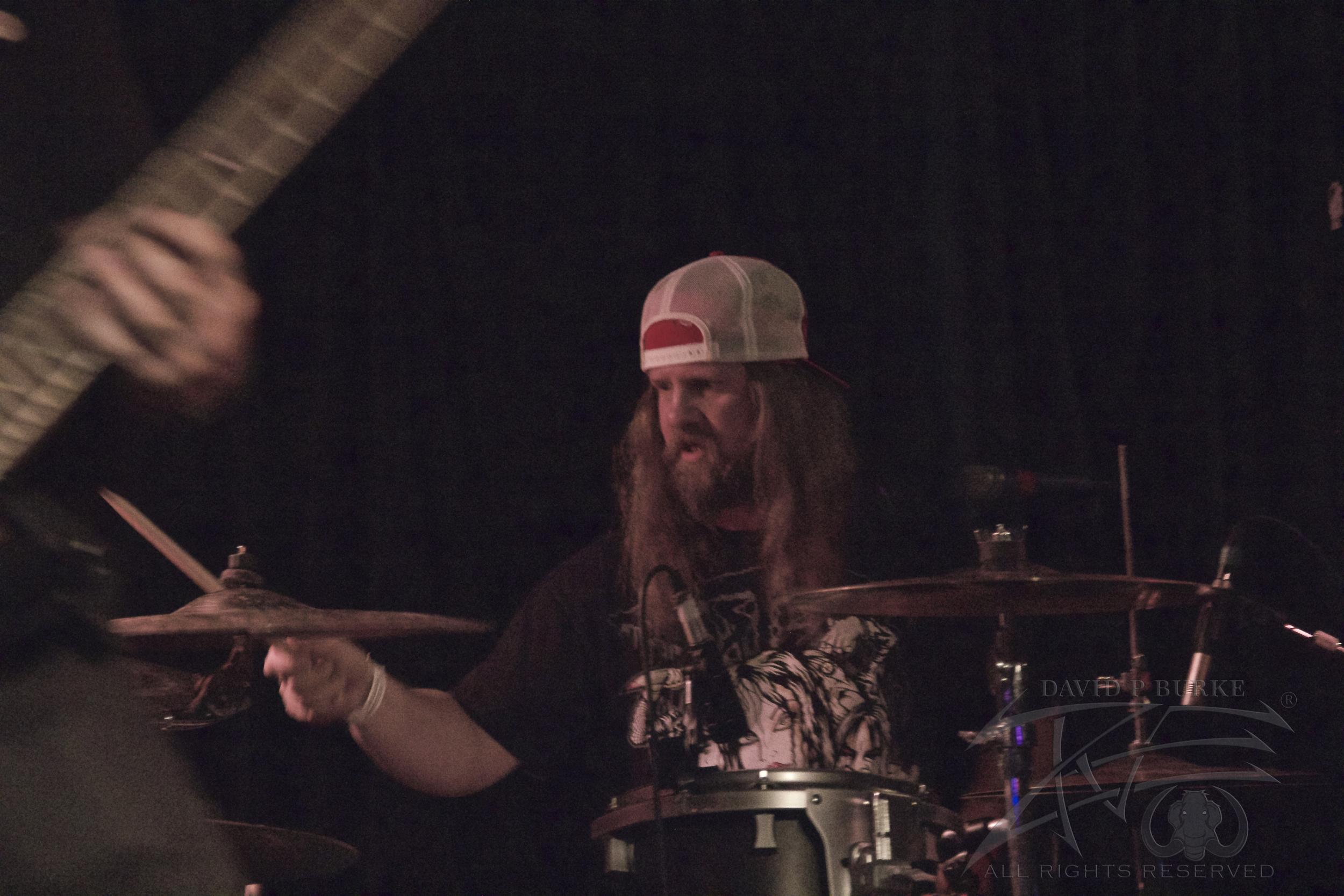 Lotus Gait drummer David   photo: David Burke