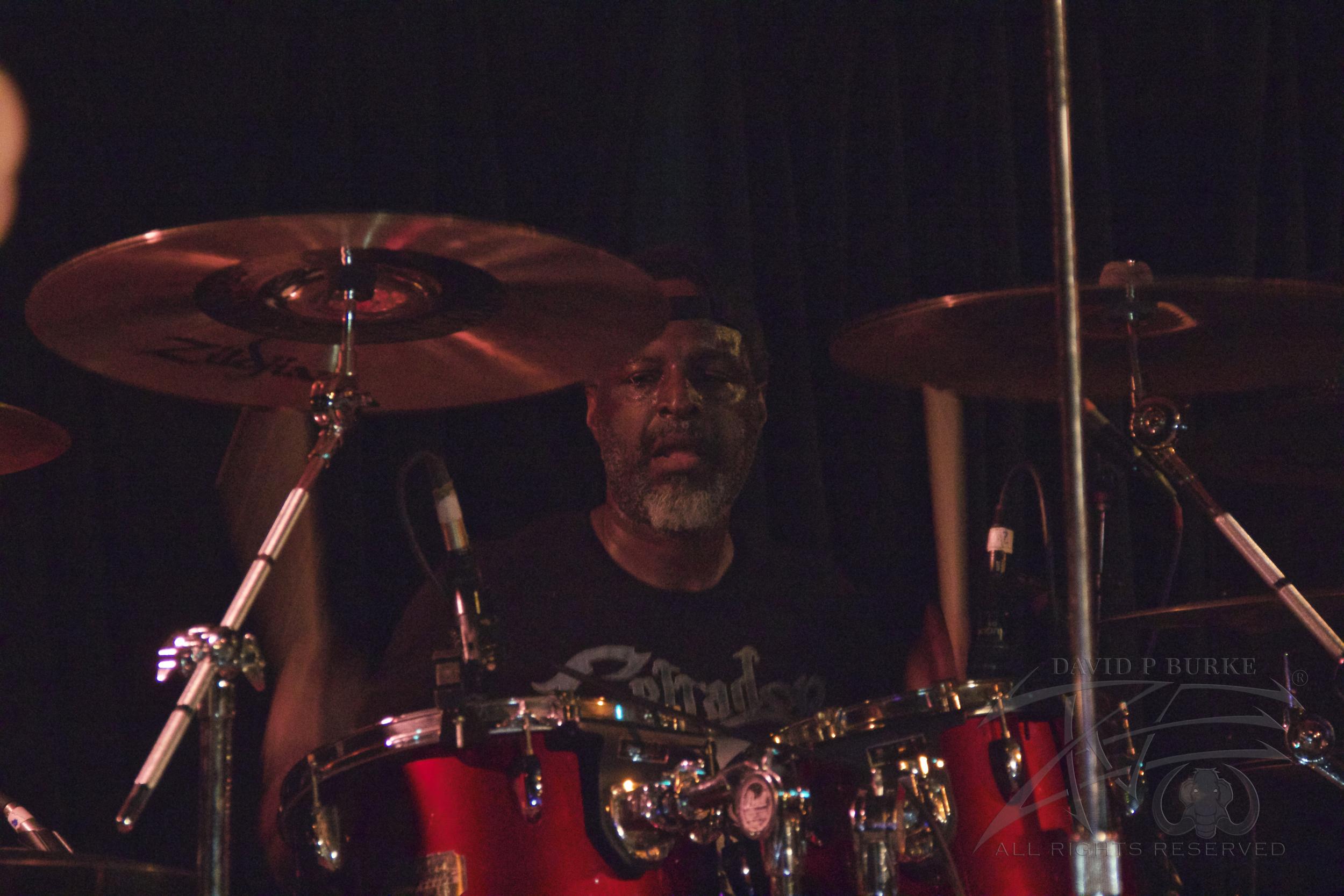 Sanity's Edge drummer Lionel White  photo: David Burke