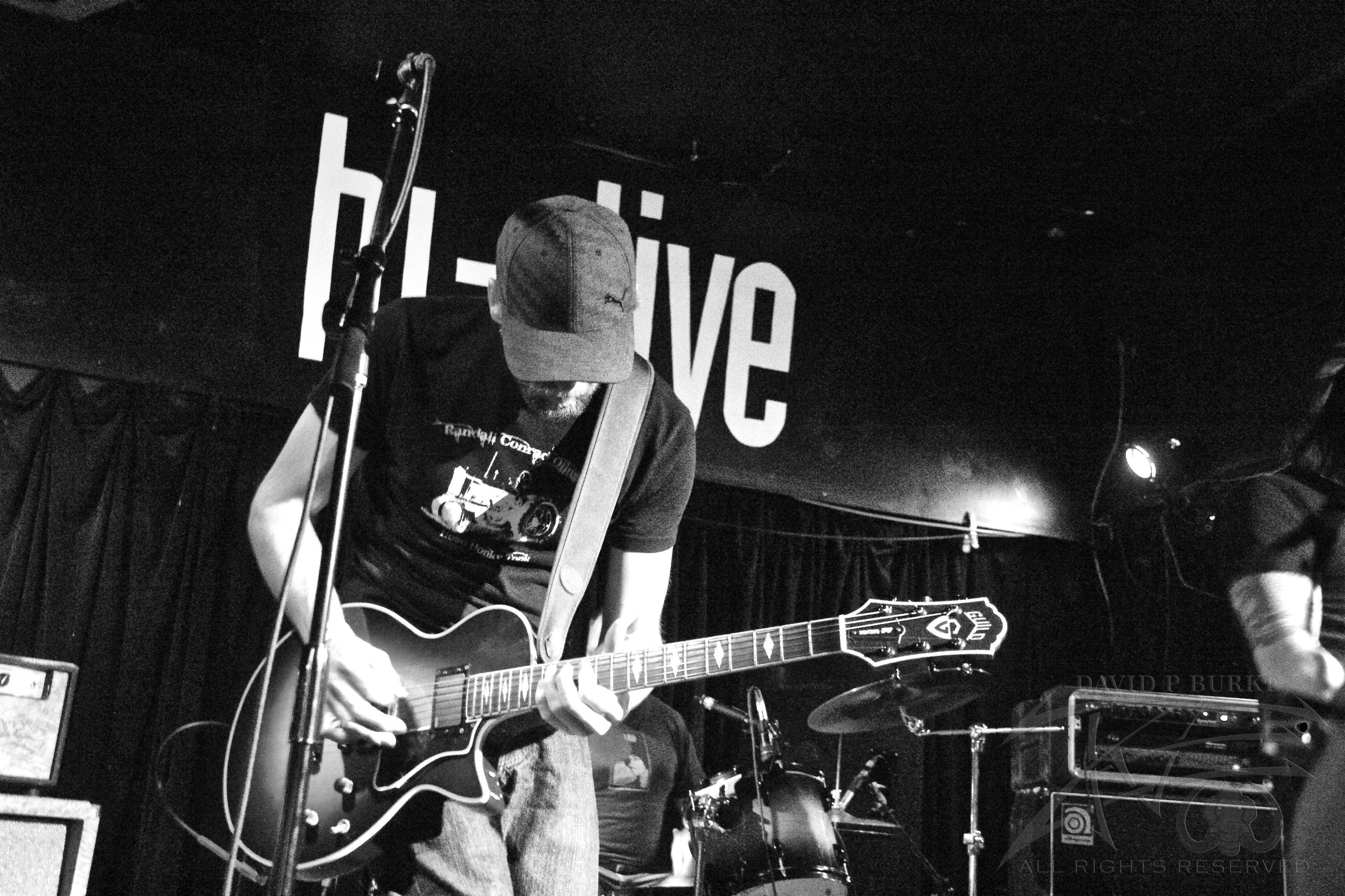 Throttlebomb guitarist Justin Delz  photo: David Burke