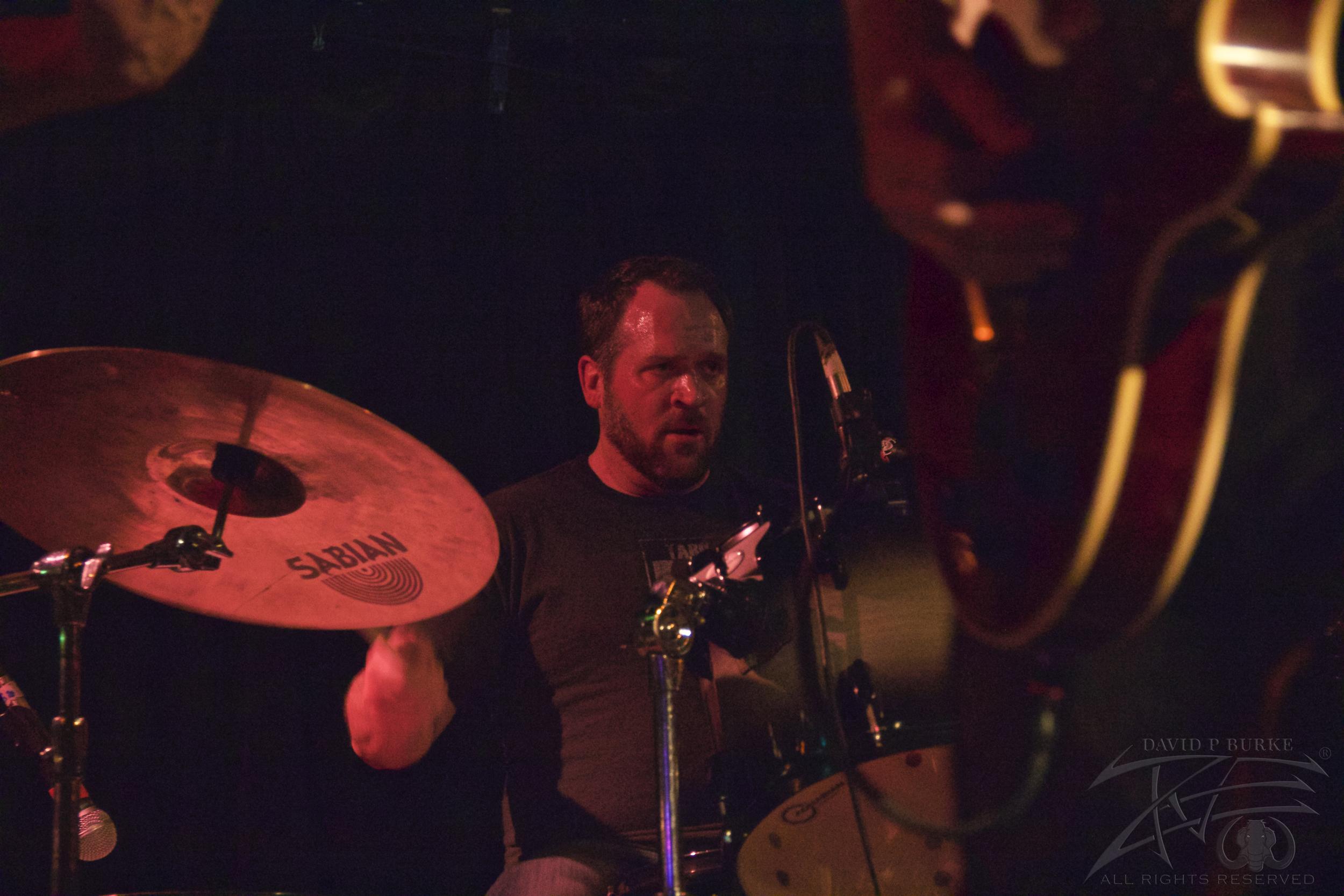 Throttlebomb drummer Adam Mullins  photo: David Burke