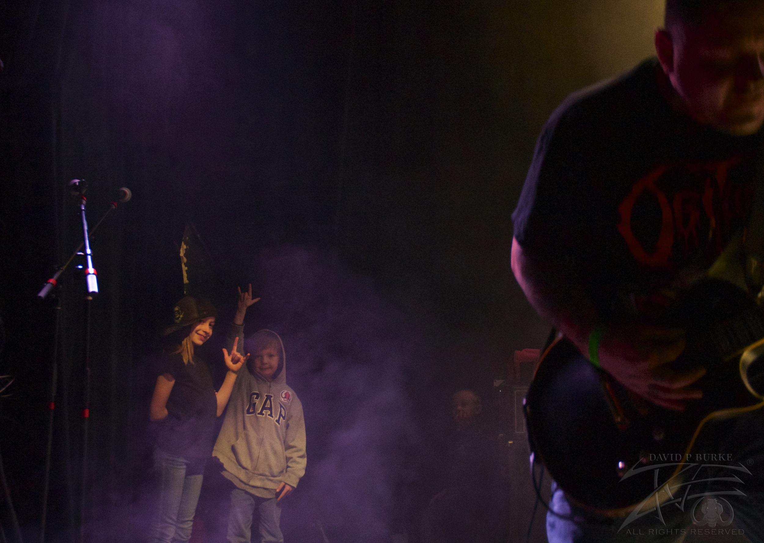 Dead Dream Escape's next generation of thrashers \m/  photo: David Burke