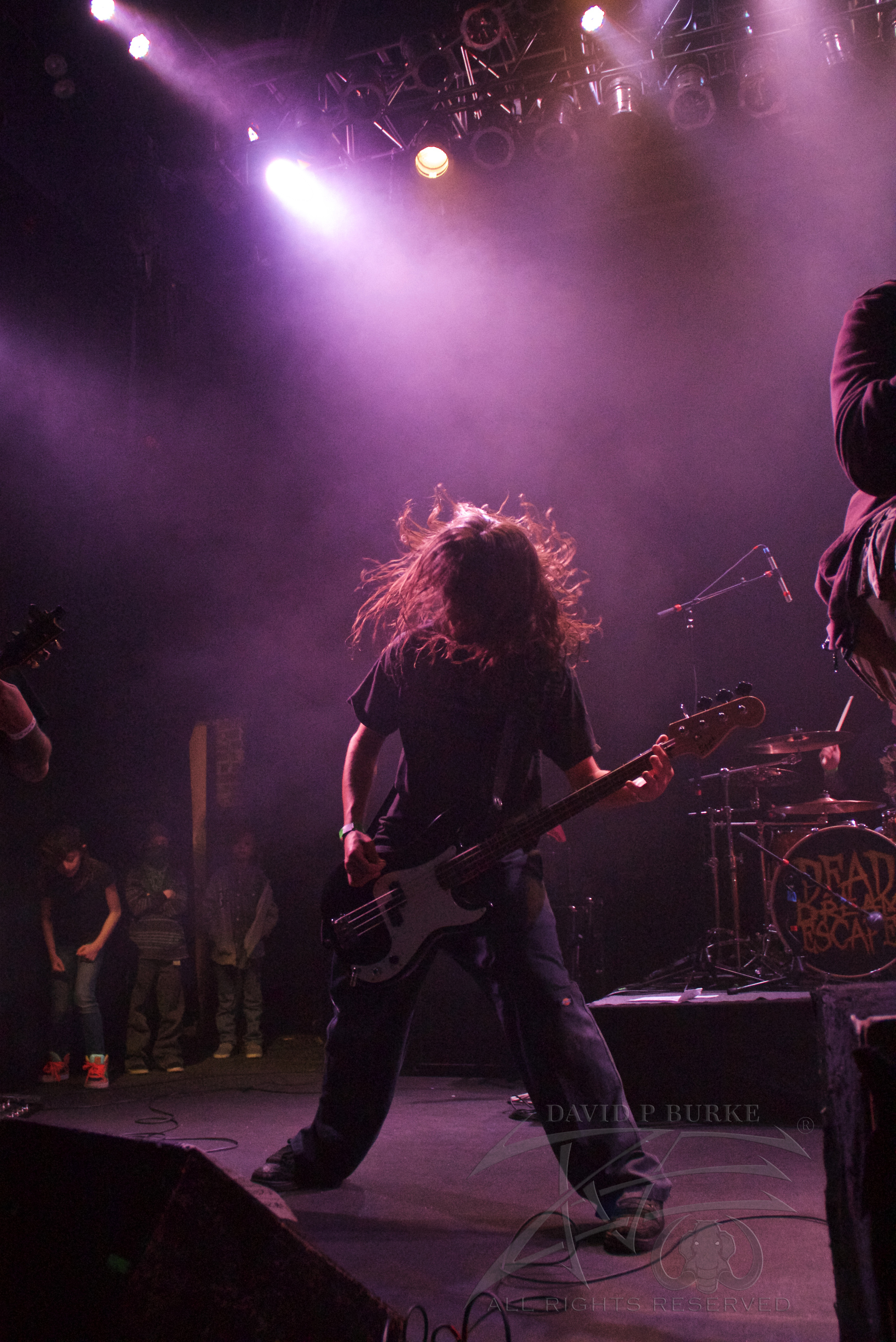 Dead Dream Escape's bassist Garrett Nugent  photo: David Burke