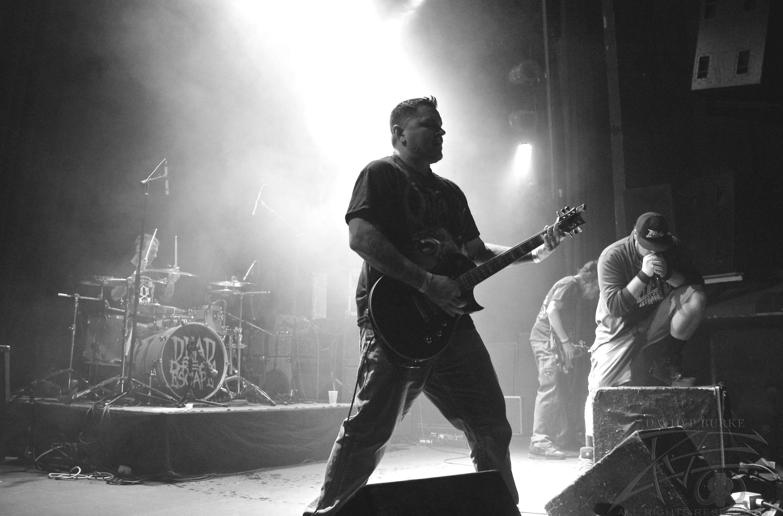 Dead Dream Escape's guitarist Joey Ramone  photo: David Burke