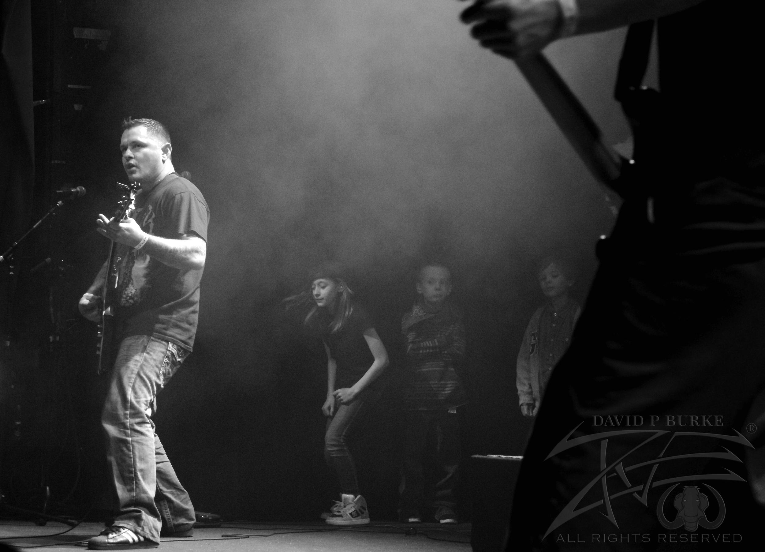 Thrashing  photo: David Burke
