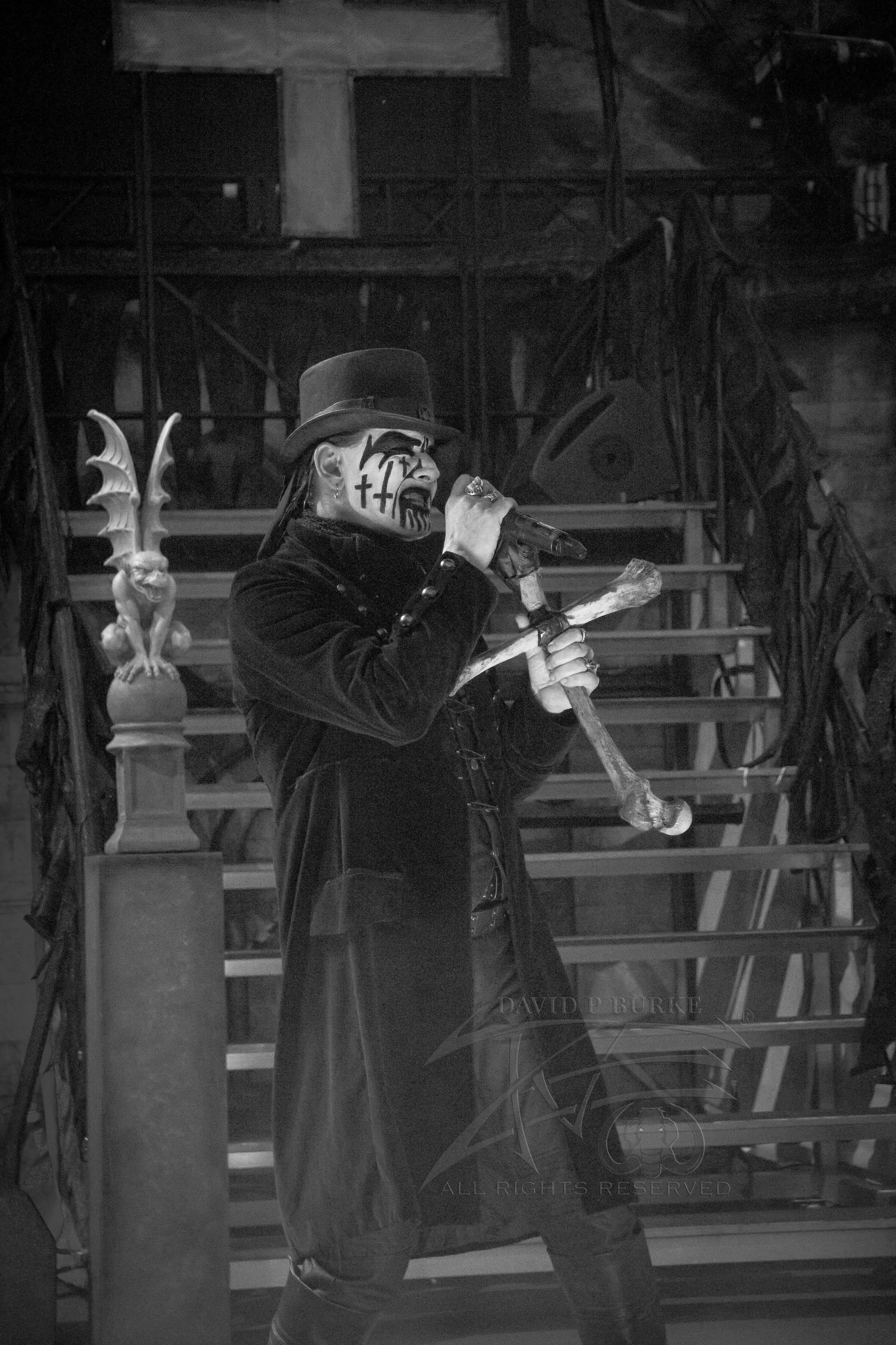 King Diamond  photo: David Burke