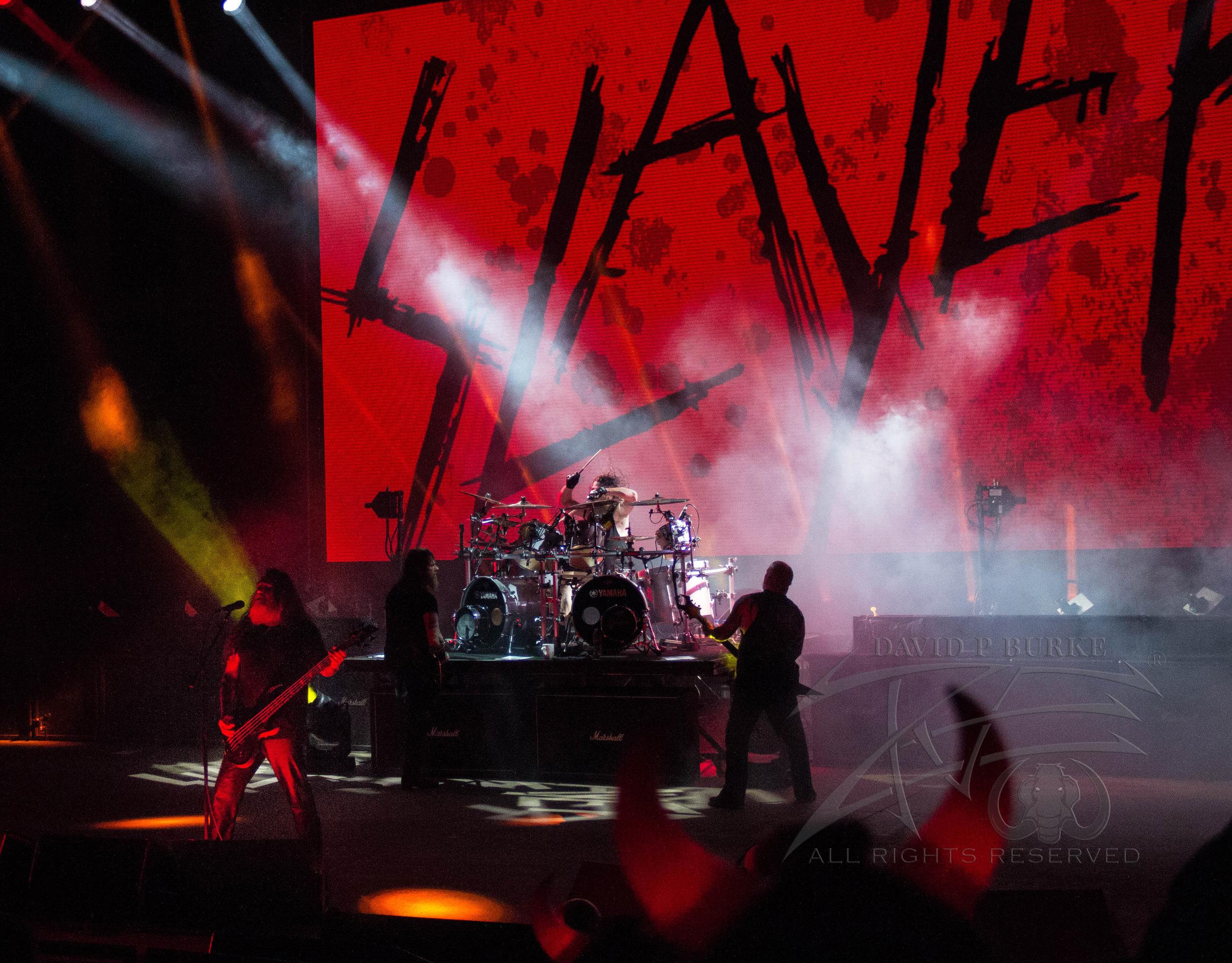 SLAYER!  photo: David Bu  rke