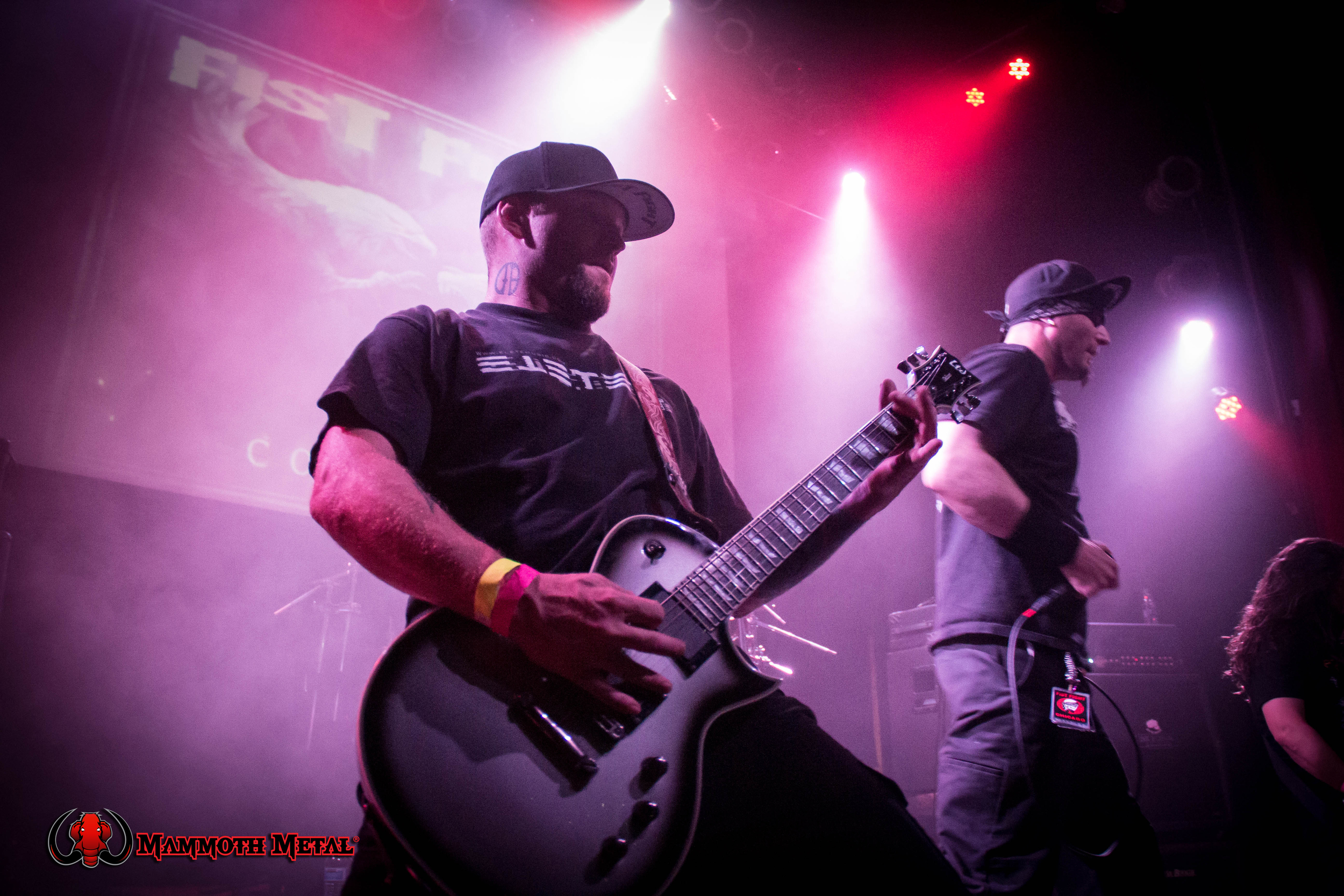 Fist Fight guitarist Jon Maggard and Dustin Hollmer   photo: David Burke