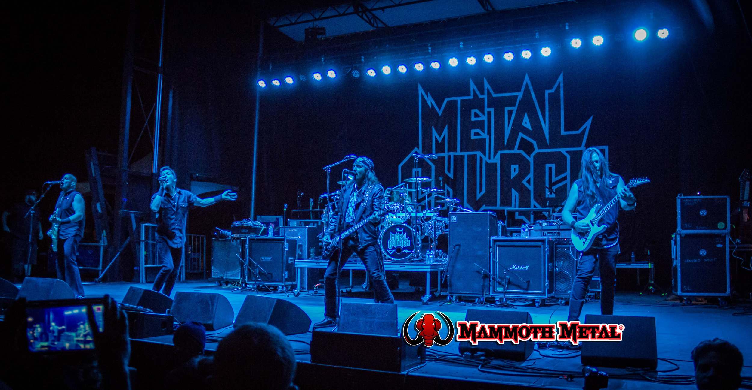Metal Church  Friday night Campers only show    photo: David Burke