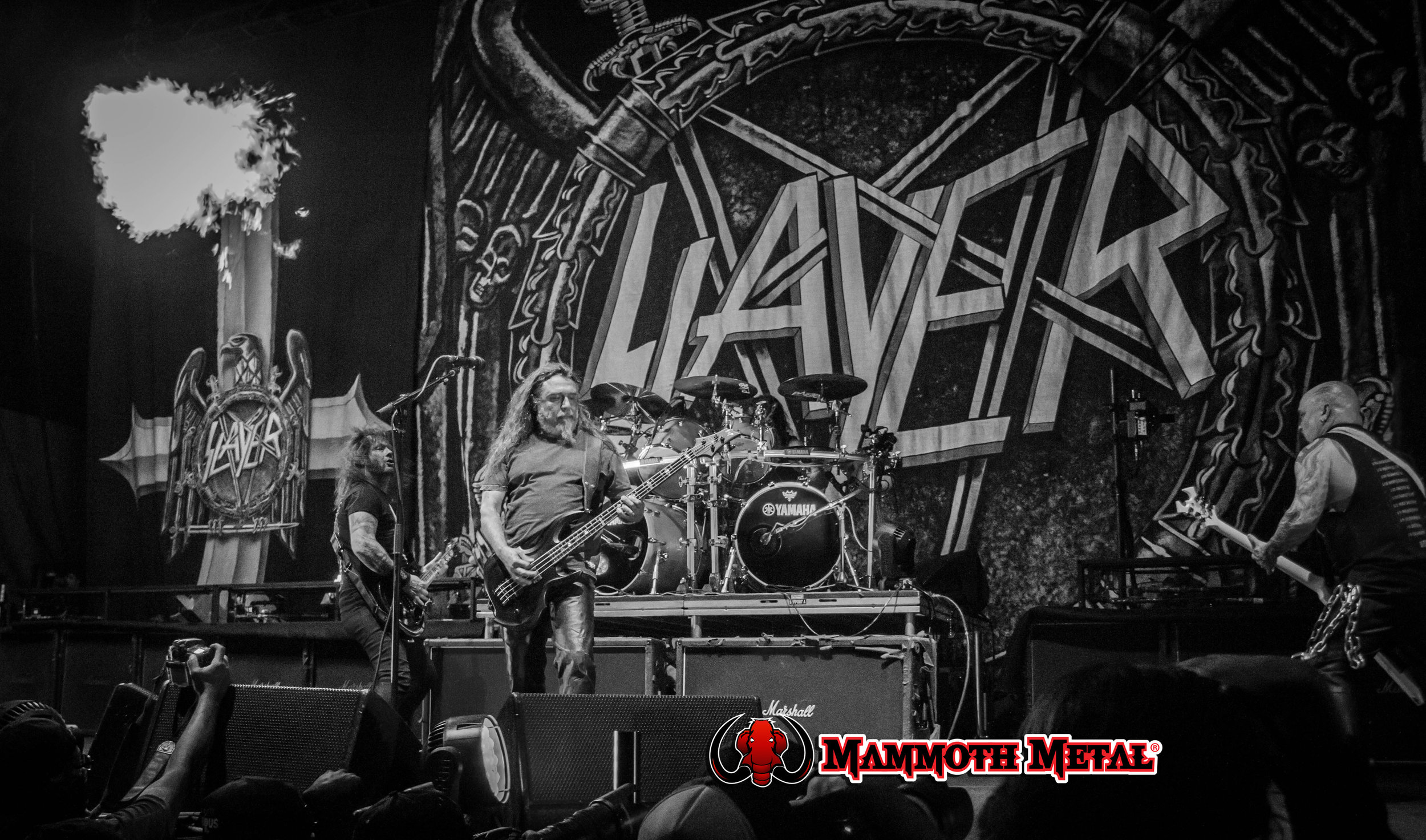 SLAYER!!  photo: David Burke