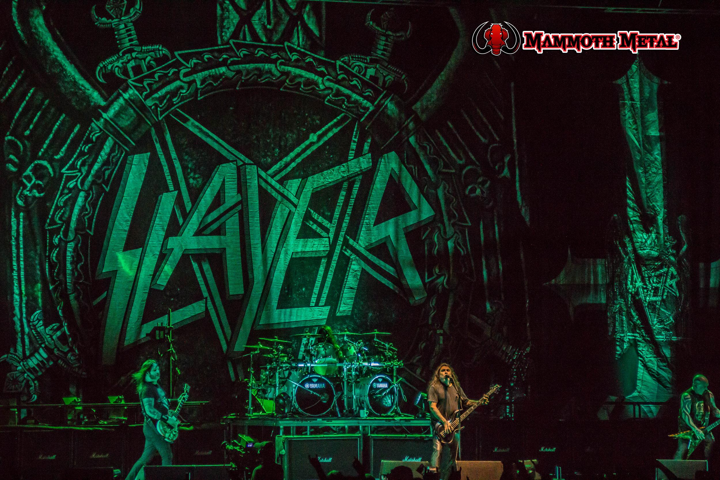 SLAYER!!!  photo: David Burke