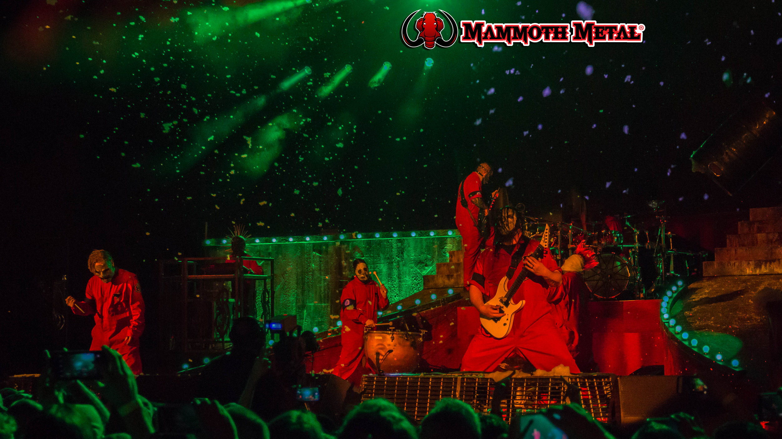Heavy hitters Slipknot deliver  photo: David Burke