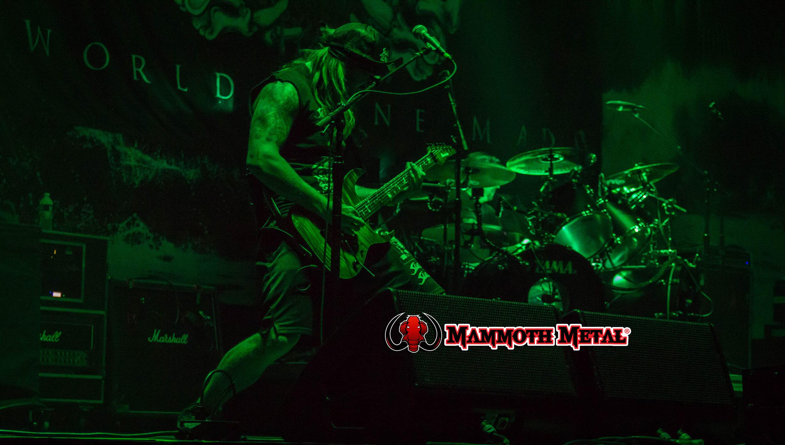 Guitarist Jeff Pogan riffing away  photo: David Burke