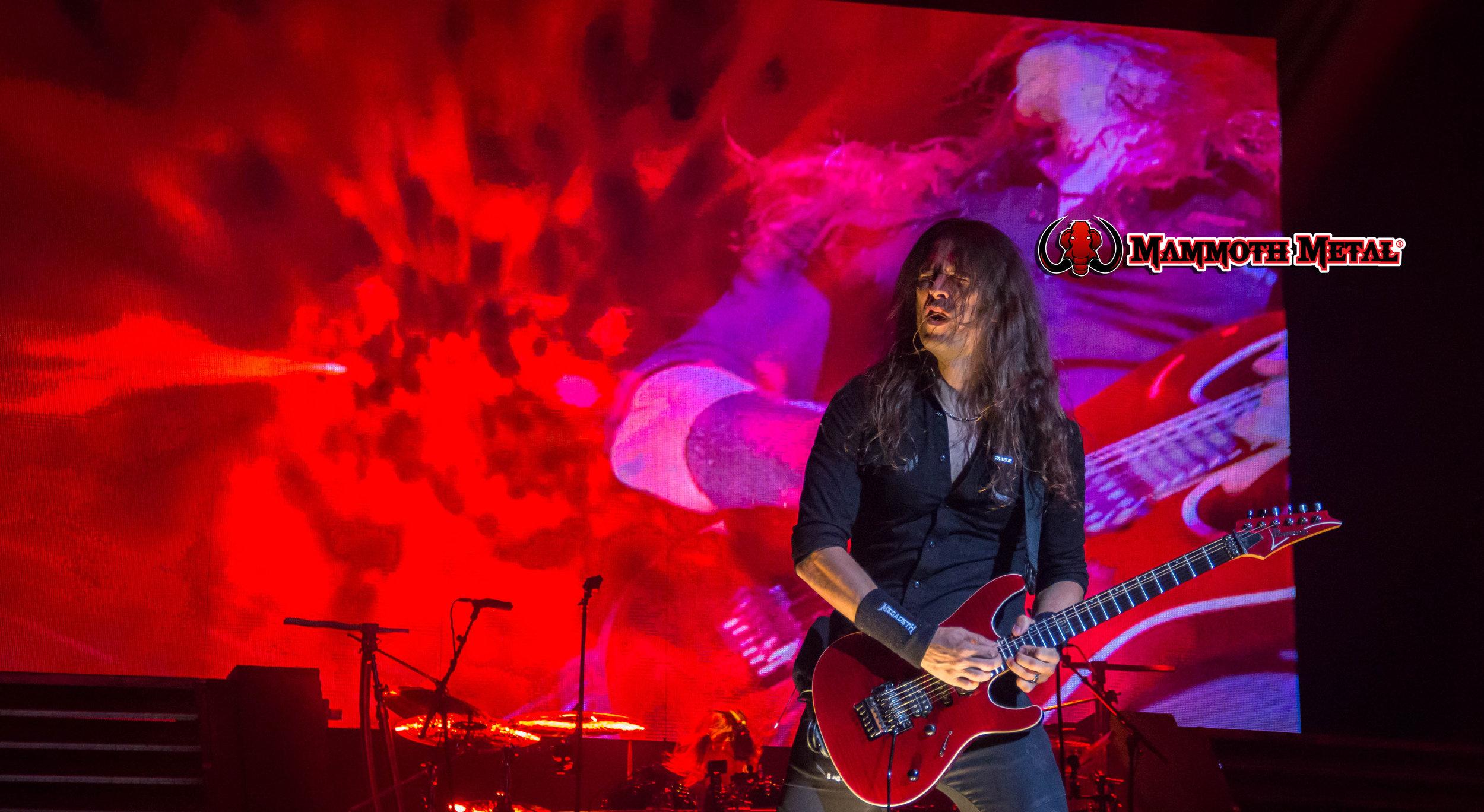 Megadeth's Kiko Loureiro is beyond word when watching him perform   photo: David Burke