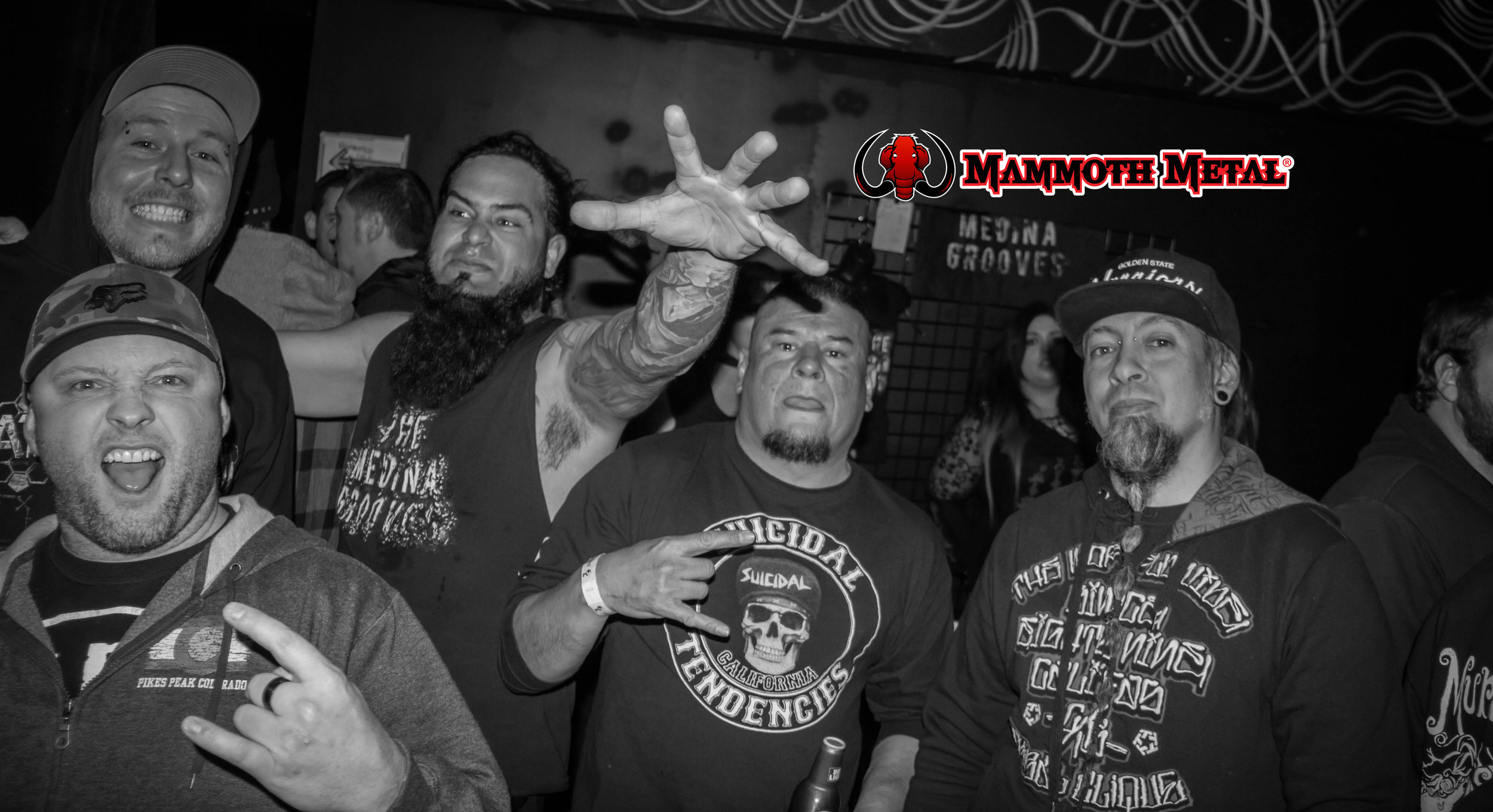 Members of Fist Fight, Smack Factor, The Medina Grooves and Ill Niño all came together for this awesome night.  photo: David BUrke