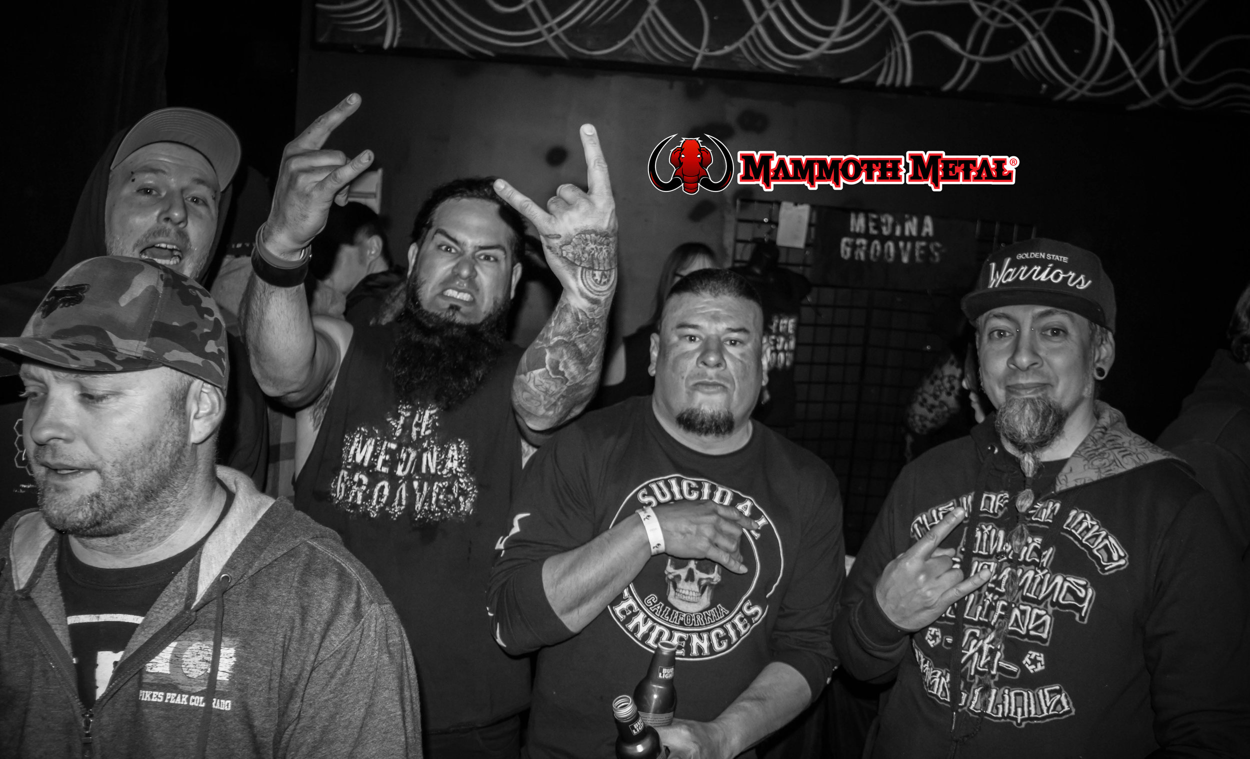 Good time with great friends.  \m/  photo: David Burke