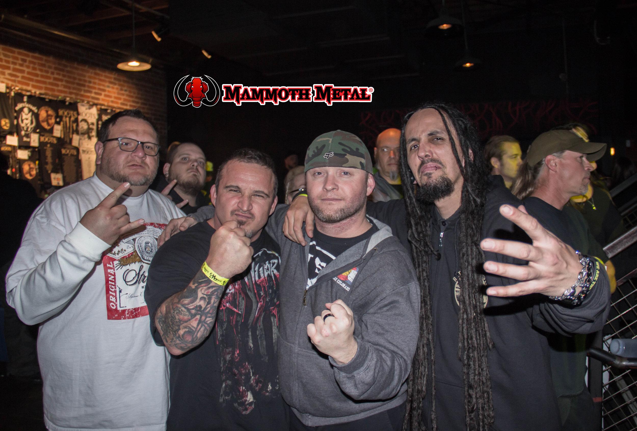 Brothers in Metal.  photo: David Burke
