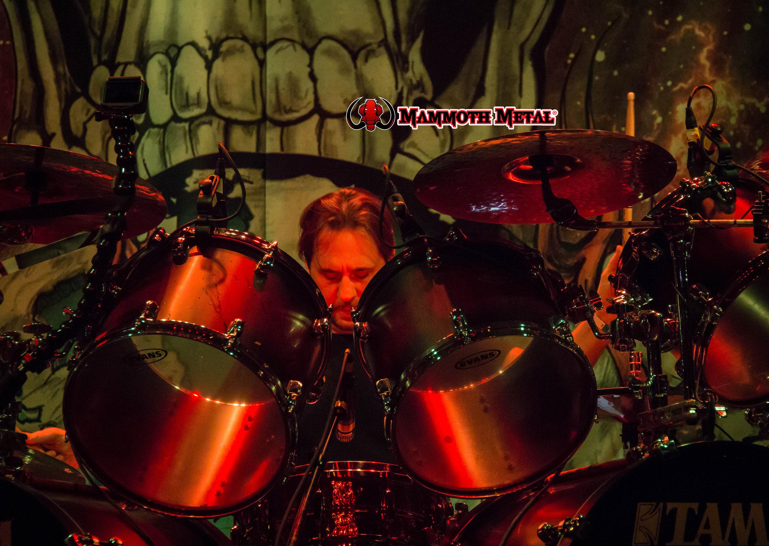 Dave Lombardo  photo: David Burke