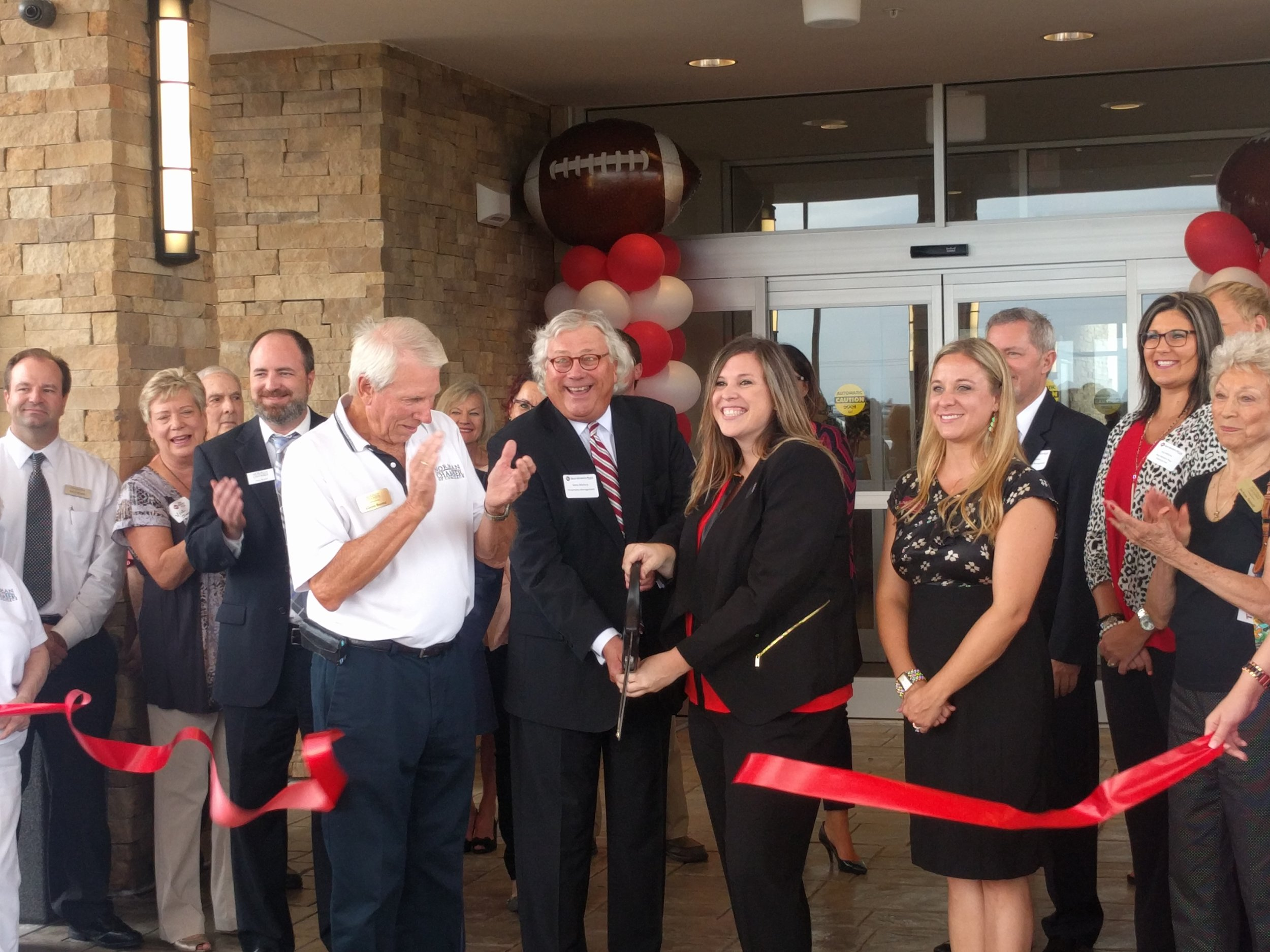 Ribbon Cutting on August 31, 2016