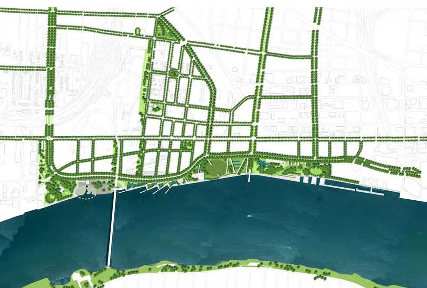 Detroit West Waterfront**