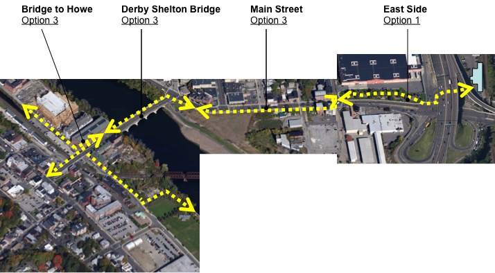 Derby Shelton Bike and Pedestrian Improvement Plan, Derby, CT*