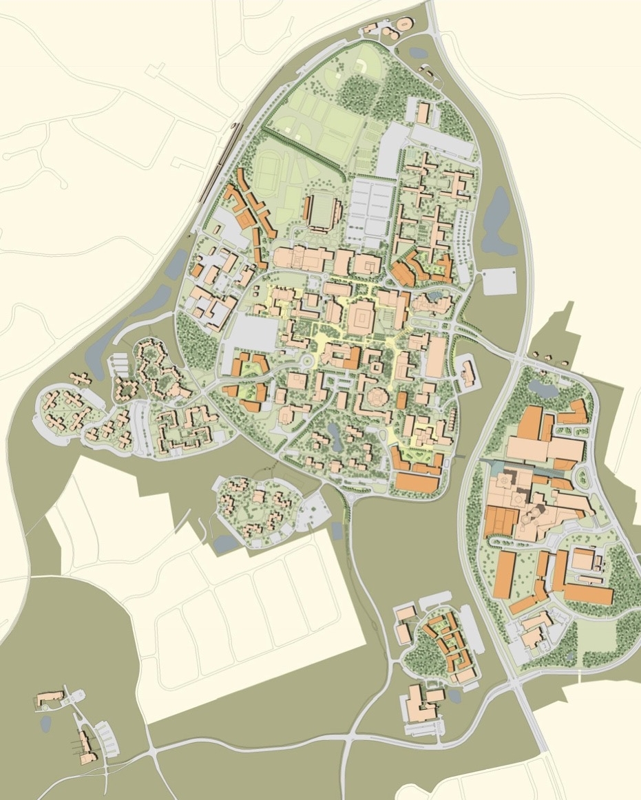 Stony Brook University Master Plan, Stony Brook, NY**