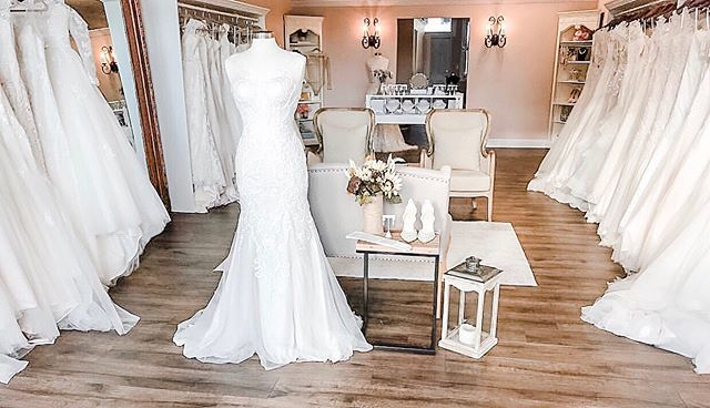 A nicely curated selection of beautiful bridal gowns.  Come say yes to your dress in our quaint chic boutique where you're always treated like VIP!  Book your appointment today and join the fam 💕 Rosi's Bridal Studio 9 Sheridan Ave HoHoKus, NJ 201.857.4958 www.rosisbridalstudio.com