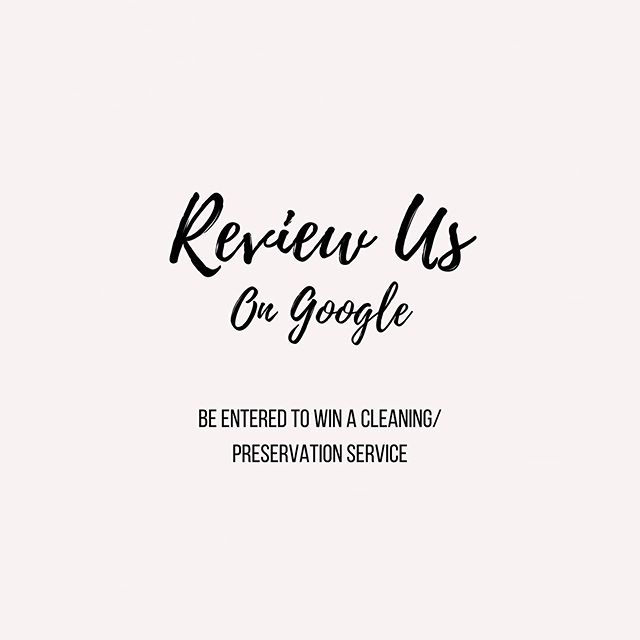 I want to hear your thoughts... you're not only helping us improve but you're also helping other brides to be who were once in your shoes.  And oh yes, you get the chance to receive a complimentary cleaning service from us (Value $350). Just follow the link in our bio and tell us your thoughts ⭐️⭐️⭐️ #thankyou