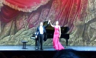 PALAIS GARNIER - Paris - Recital NADINE SIERRA - soprano  KAMAL KHAN - piano