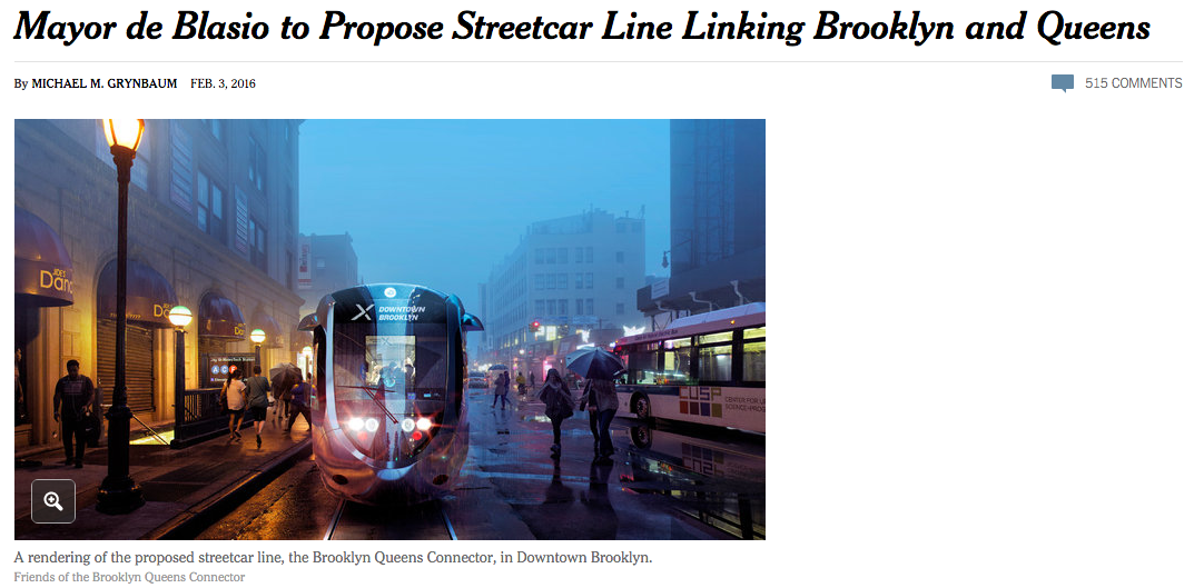 Courtesy: NYTimes &Friends of the Brooklyn Queens Connector