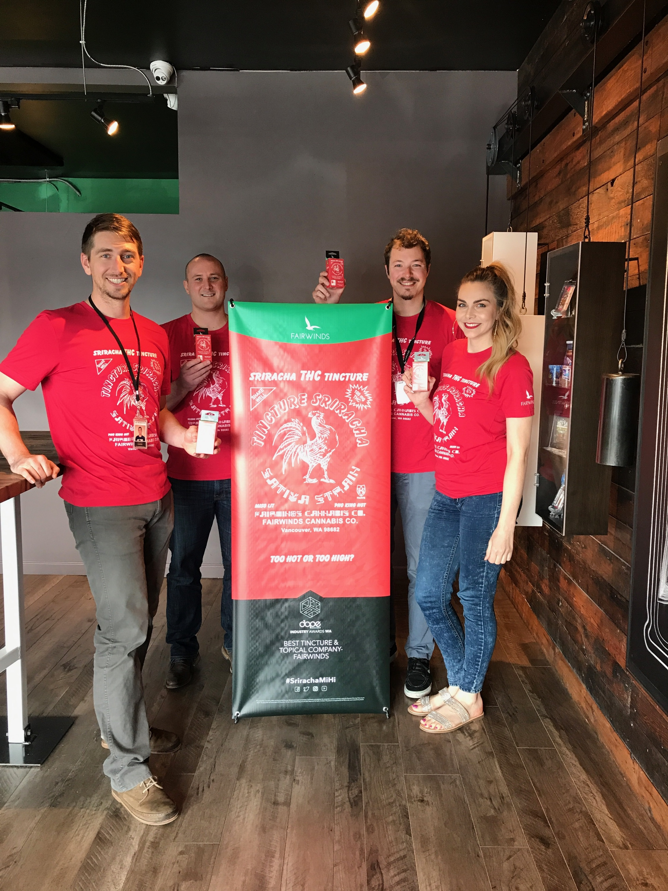 Sriracha release day at The Novel Tree!