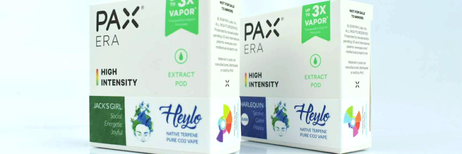 Ask your budtender for Pax Pods by Heylo Cannabis Extracts...