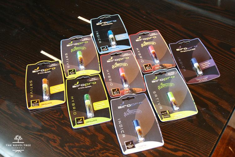 Airo pro Vape Pens & Cartridges — The Novel Tree | Marijuana
