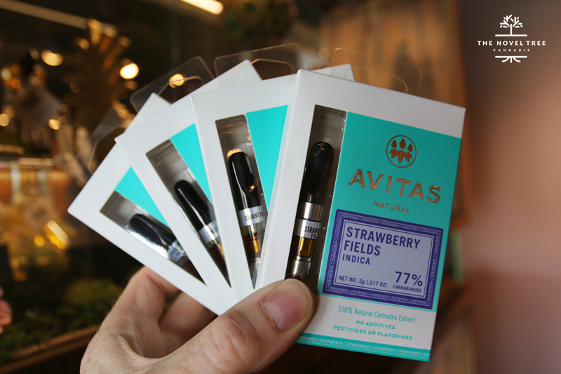 Find Avitas vapes in C-Cell and PAX Pods versions at The Novel Tree.