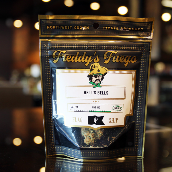 Hell's Bells by Freddy's Fuego - Erick describes this cross between Legend OG, GMO and TKskunk as