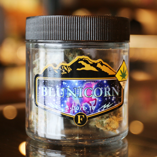 Blunicorn by Freya Farm - Budtender Chynna describes this 70/30 indica-dominant strain as