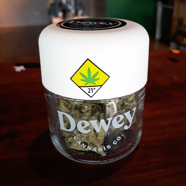 "White Cap by Dewey Cannabis Co. - Hybrid | 27% THC""This Indica dominant hybrid is a long timecult favorite from the Skagit Valley. This versatile variety kicks off with a creative, talkative, euphoric rush, but when enjoyed in heavier doses can quickly lead to couch lock and daydreams. Best enjoyed with friends at the end of the day.""via deweycannabis.com"