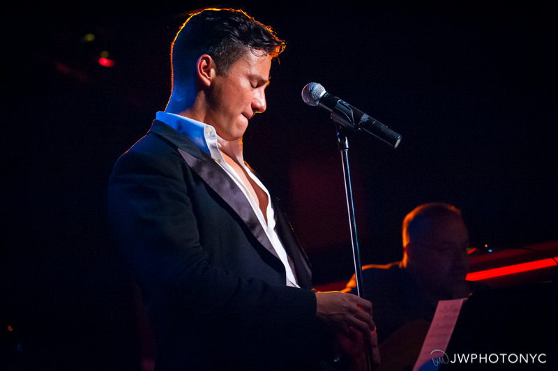"""Nicolas Rodriguez in his show, """"The First Time"""" at Birdland Jazz Club, June 28th, 2015."""