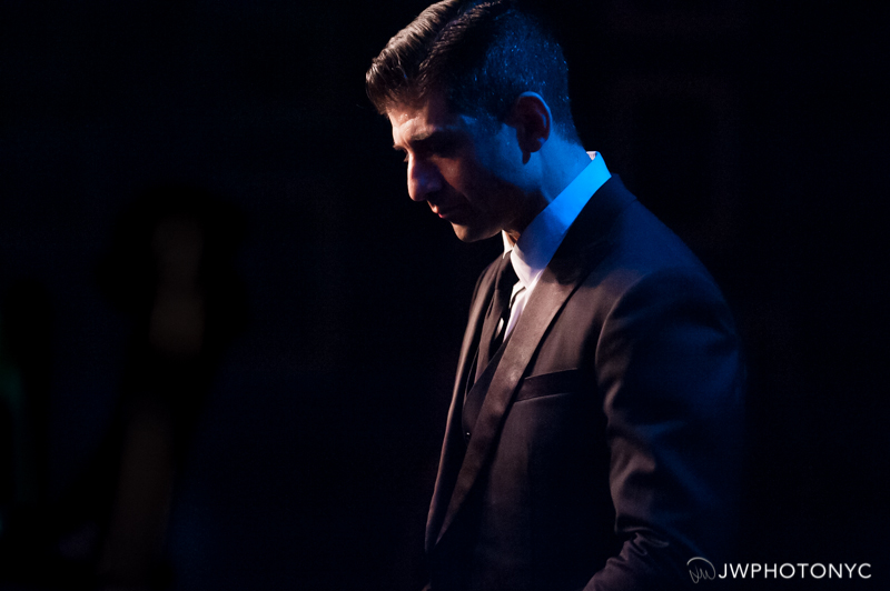 """Tony Yazbeck onstage at Birdland Jazz Club presenting his show, """"The Floor Above Me."""" June 28th, 2015."""