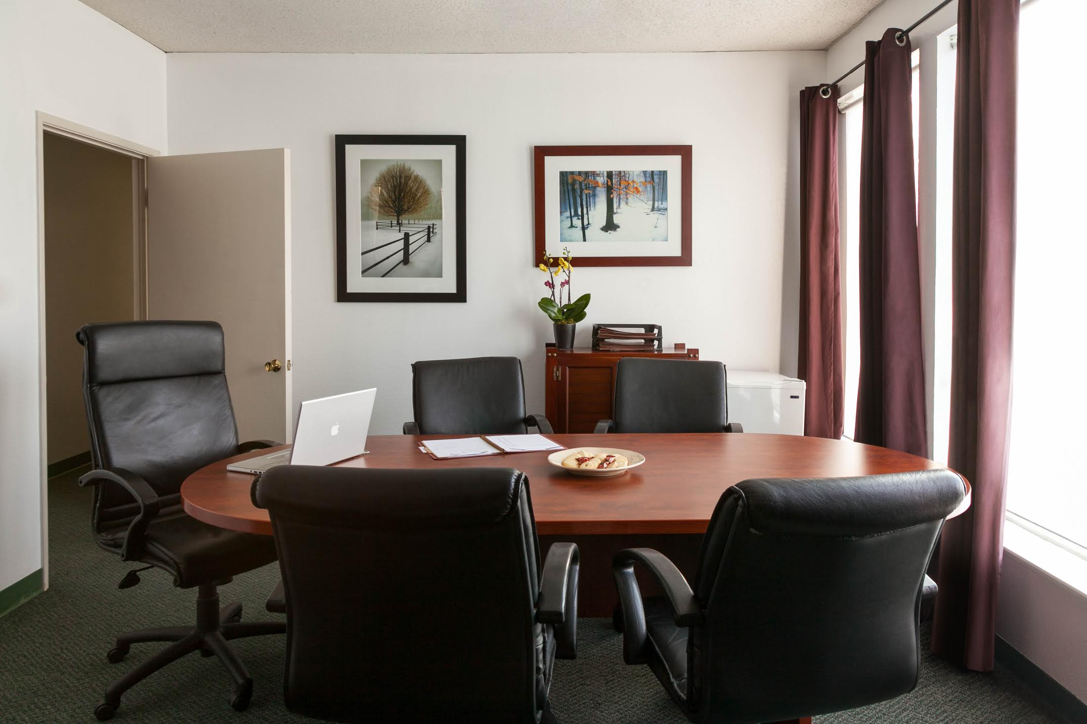 Samara Law office's conference room