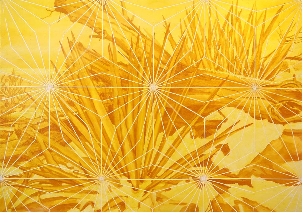 """Matthew Mullins , Sun Mountain , Oil on Canvas, 30"""" x 40"""" (76cm x 101cm)"""