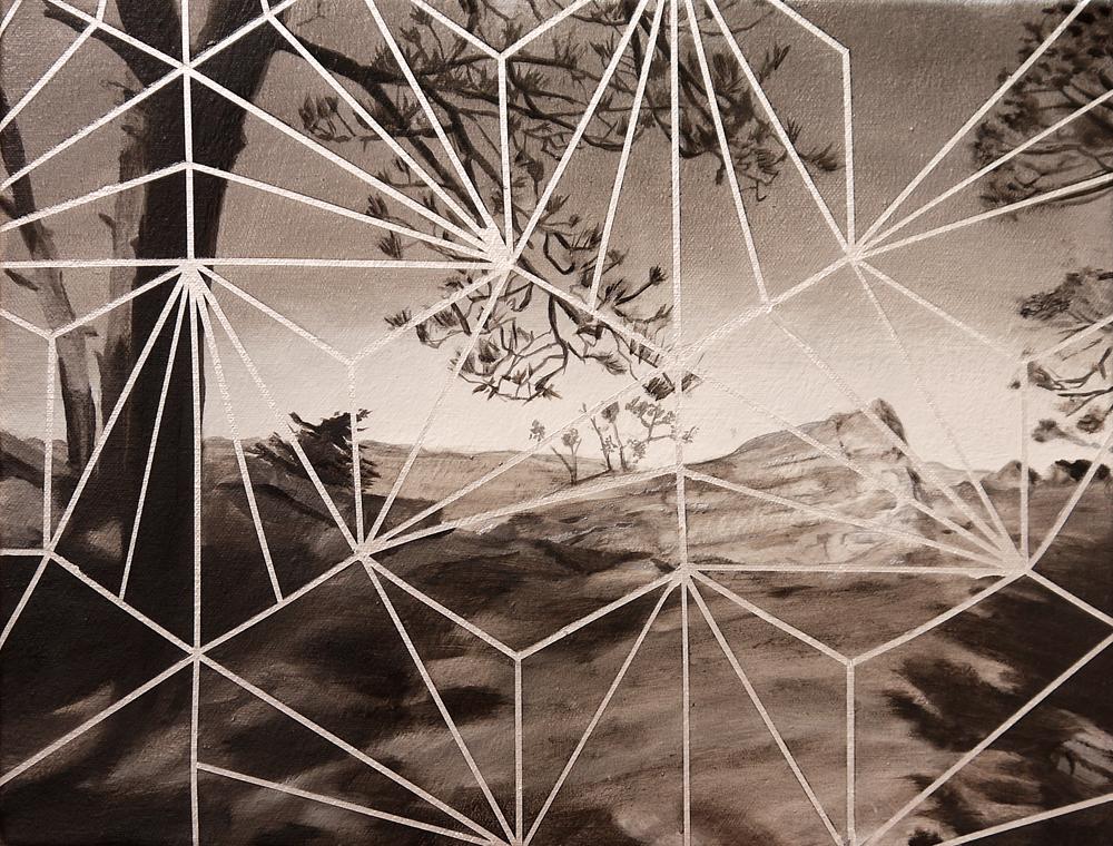 Matthew Mullins, Ridge, Oil on canvas