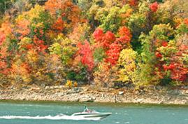 tablerocklake boat and fall colors.jpg