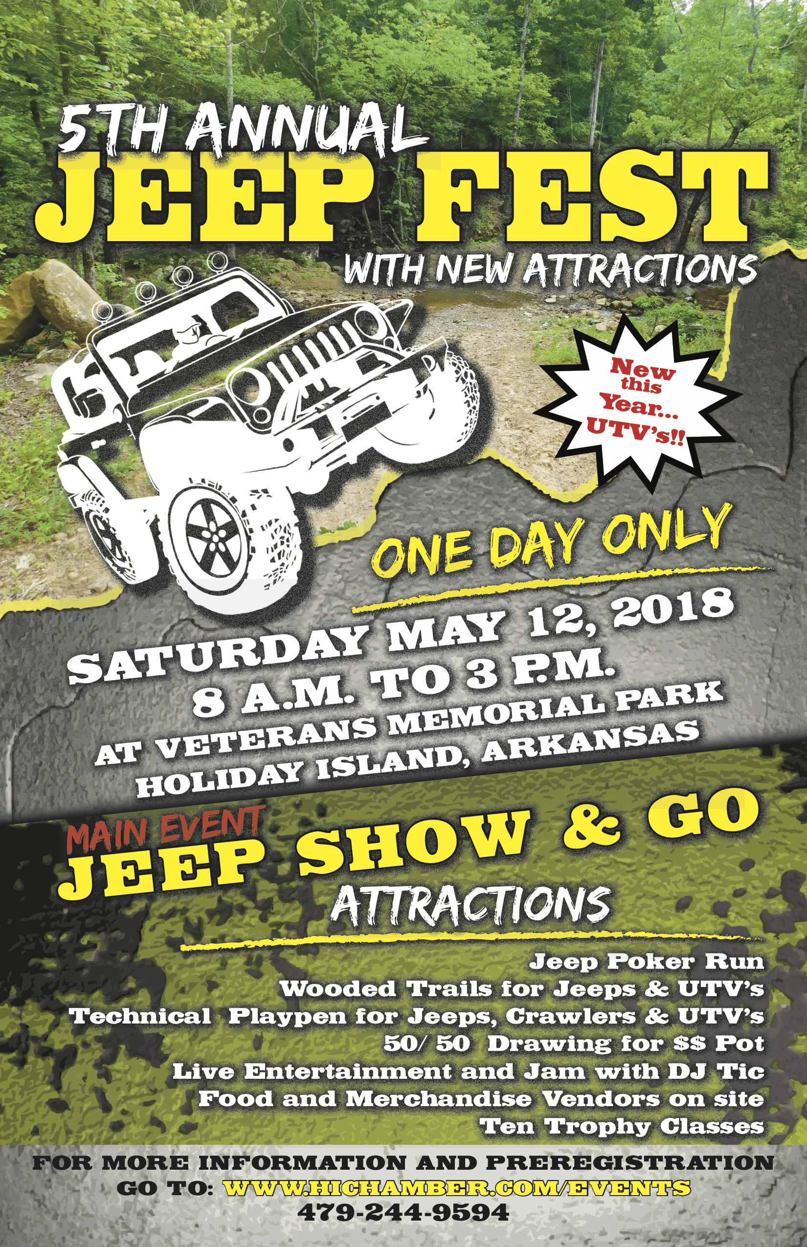 5th Annual Jeep Fest at Holiday Island, Arkansas (2018)