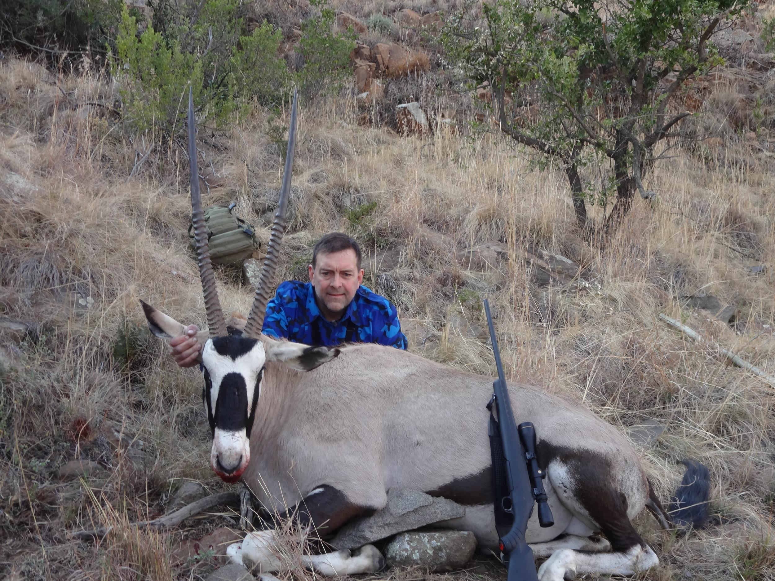 Gemsbok Taken With Jard Trigger